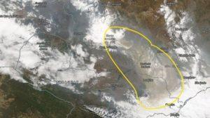Fumaça que invadiu São Paulo