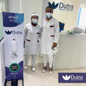 Higiene contra Covid19 Dutra seguros